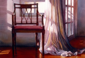 """""""The Wedding"""" by Marla Greenfield, watercolor on paper"""