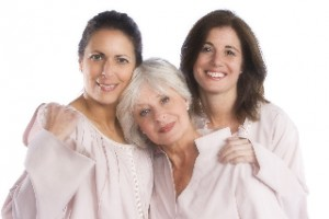 Three women model Jillies