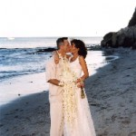 Lissa and Greg Coffey at their wedding, 2001