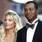 Tiger Woods and his wife, Elin