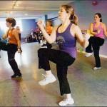 Judy Quint teaches a Zumba® class