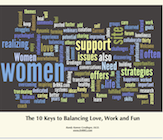 The 10 Keys to Balancing Love, Work and Fun by Dr. Randy Kamen e-book cover