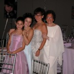 Nancy, her daughters and mother