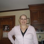 Spring 2008, Cheryl while undergoing treatment