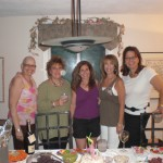 Cheryl and friends, July 2008 before surgery
