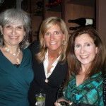 Cheryl with friends Melanie and Linda
