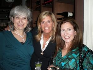 Cheryl with friends Melanie and Linda