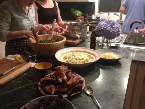 BlueberryFieldsMV dinner