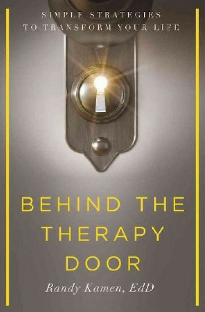 Behind the Therapy Door Book Cover
